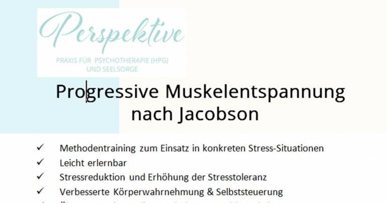 Kurs – Progressive Muskelentspannung